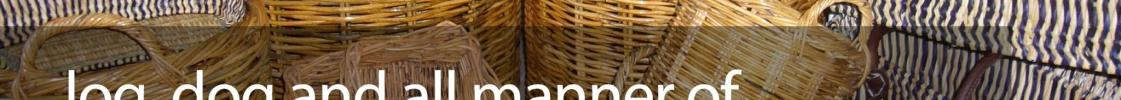 Wicker Basket Pop Up Shop