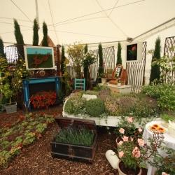 Garden Show raises £1490 for the Liz Jones Memorial Trust and Dravet Syndrome Charity.