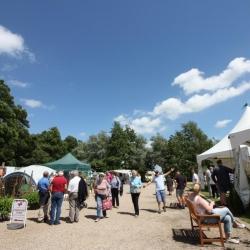 Garden Show raises £1400 for The Benjamin Foundation and Aylsham Roman Project.