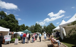 Garden Show raises £1400 for The Benjamin Foundation and Aylsham Roman Project.