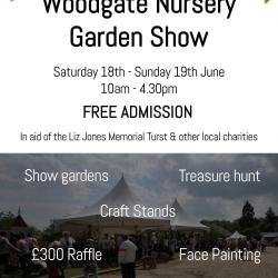 Garden Show – 18 & 19th June 2016