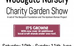 Woodgate Garden Show 10-11th June