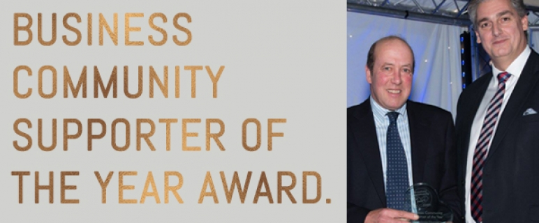 Business Community Supporter of the Year Award