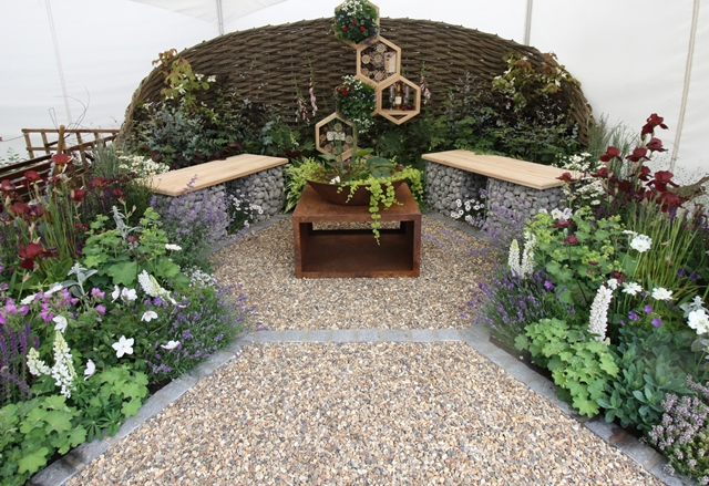 Woodgate Nursery_Garden Show 2019_1st Place_Susannah Black Garden Design and built by IFC Landscapes.