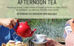 Summer Afternoon Tea at Purdy's