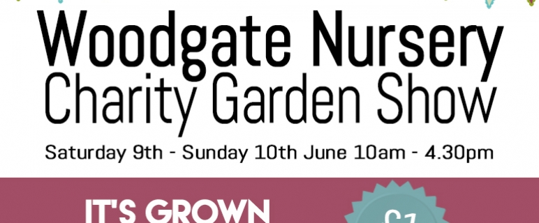 Woodgate Garden Show 9th – 10th June 2018