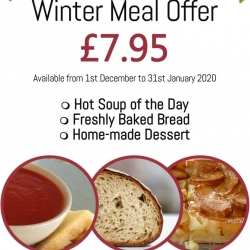 Winter Meal Offers at Purdy's Tea Room